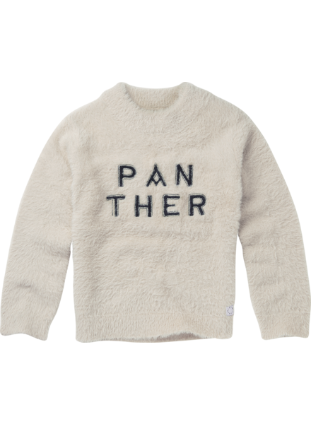Sproet&Sprout Sweater Panther text