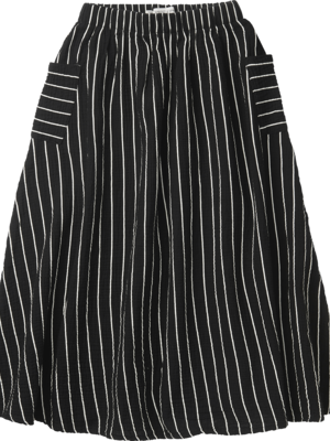 Sproet&Sprout Woven long skirt stripe
