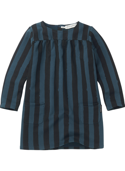 Sproet&Sprout Sweat dress Painted stripe