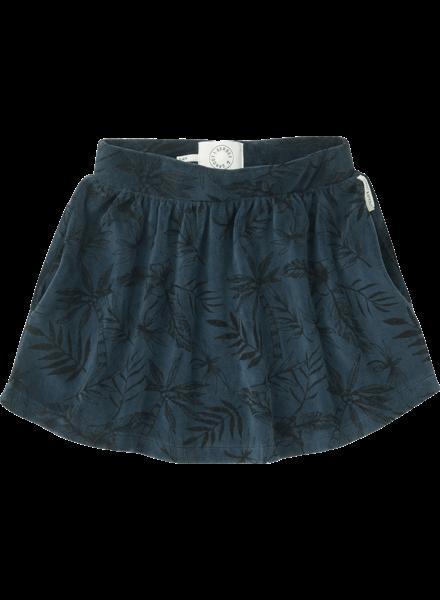 Sproet&Sprout Velvet skirt tropical AOP