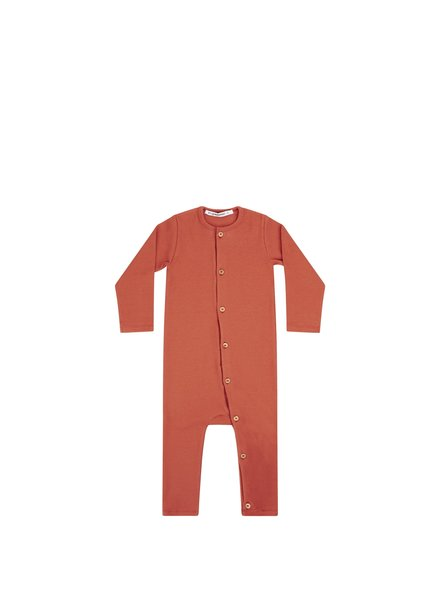 mingo Playsuit red wood