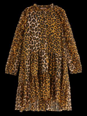 Scotch & Soda All-over printed ruffle dress 151842