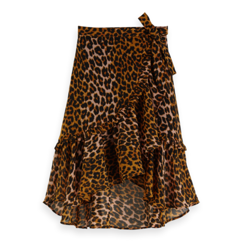 Scotch & Soda All-over printed maxi wrap skirt 151881