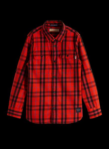 Scotch & Soda Yarn dyed check shirt 151394
