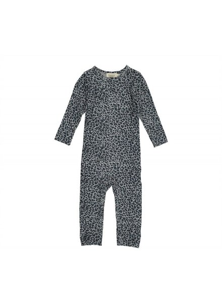 MarMAr CPH Suit darkest blue leopard