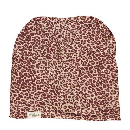 MarMAr CPH Hat wine leopard