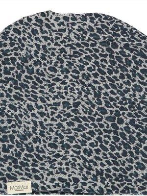 MarMAr CPH Hat darkest blue leopard