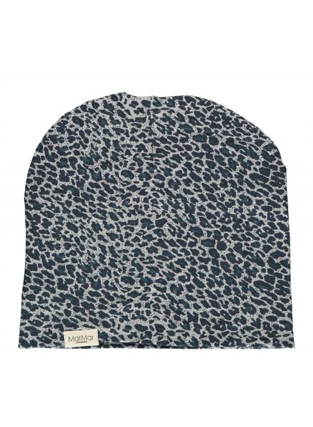 MarMAr CPH Hat darkest blue leopard