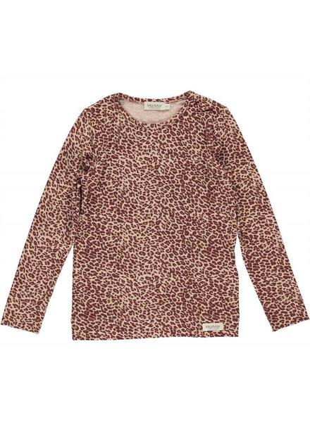 MarMAr CPH Tee wine leopard