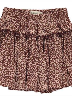 MarMAr CPH Skirt wine leopard