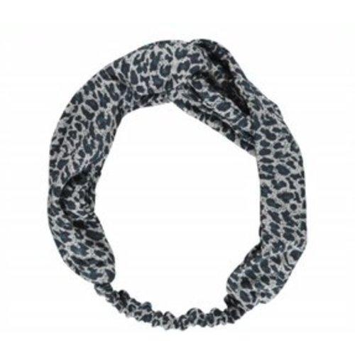 MarMAr CPH Haarband darkest blue leopard
