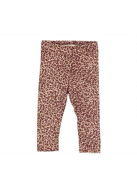 MarMAr CPH Legging wine leopard