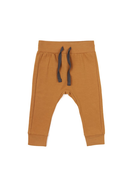 Phil &Phae Drop-crotch pants gold ochre