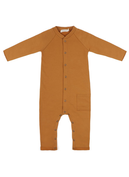 Phil &Phae Sweat jumpsuit Gold ochre