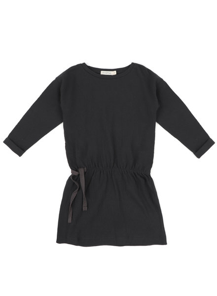 Phil &Phae Textured blouson dress charcoal