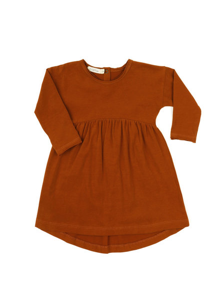 Phil &Phae Drop-shoulder dress burnt orange