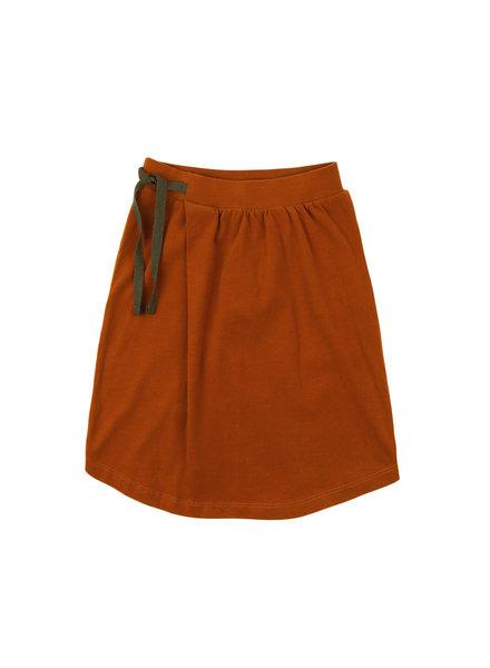 Phil &Phae Midi skirt burnt orange