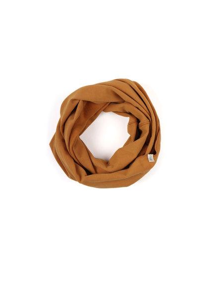 Phil &Phae Infinity scarf gold ochre