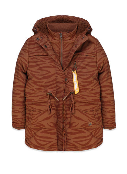 ammehoela Jacket AM. Storm Brown Tiger