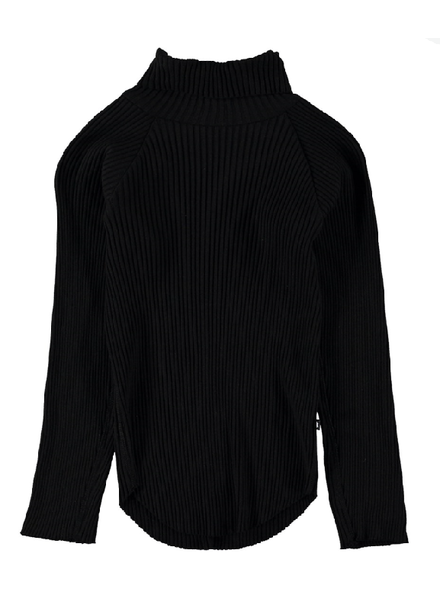 black romaine longsleeve
