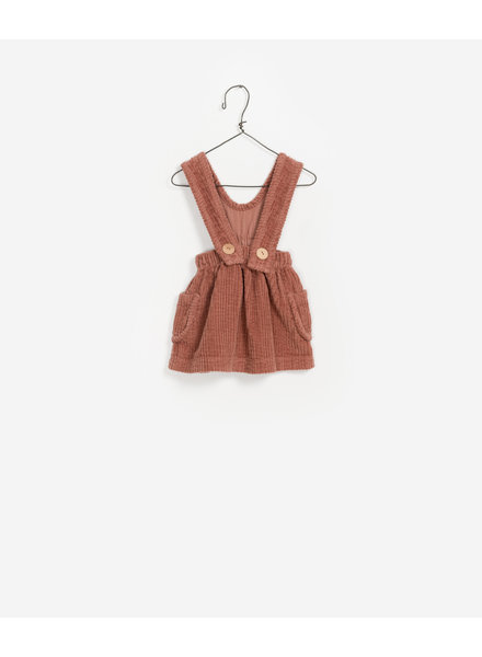Play Up Corduroy Dungaree Skirt 2AF11460