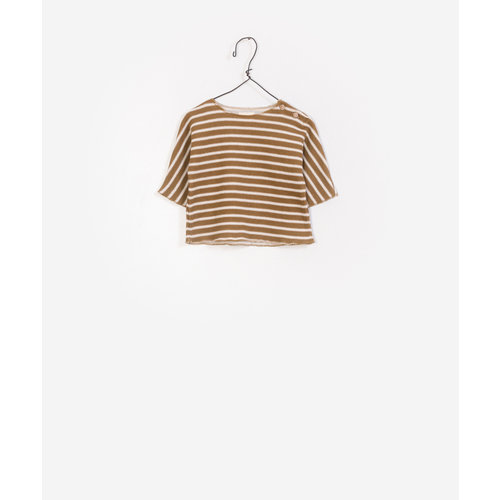 Play Up Striped Double Face Sweater 1AF11205