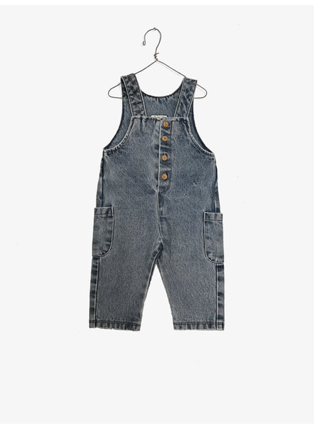 Play Up Denim Jumpsuit 1AF11505 D001