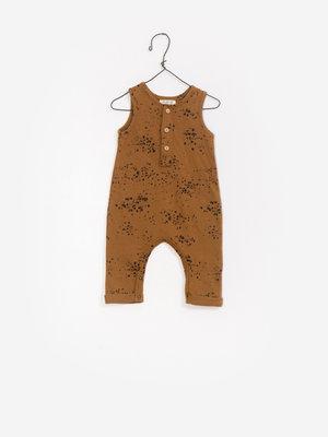 Play Up Printed Jersey Jumpsuit  1AF11503
