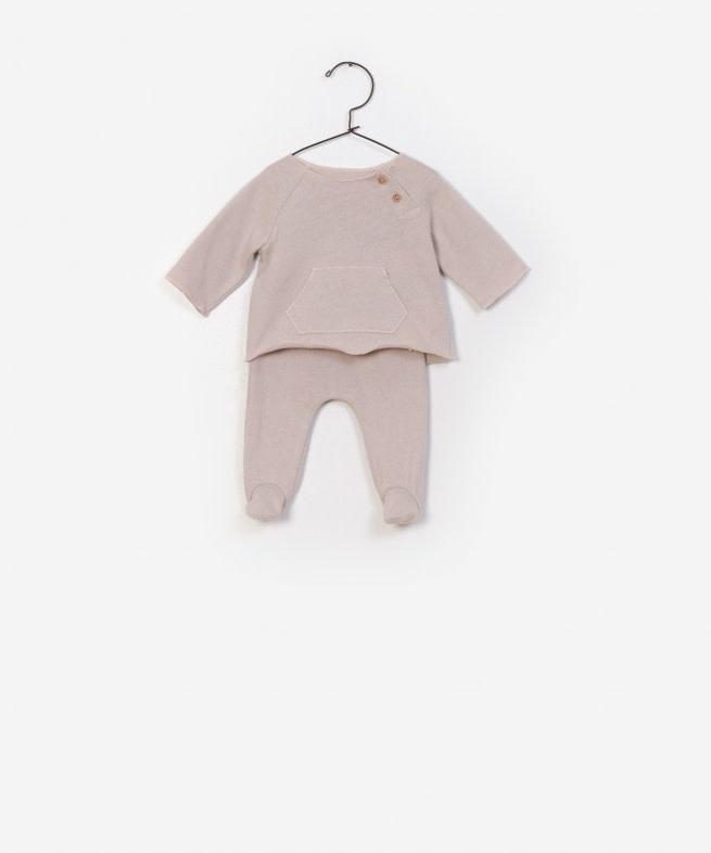Play Up T-shirt + Trousers Set naturel  AF11550