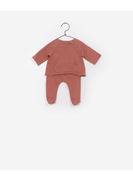 Play Up T-shirt + Trousers Set brick 0AF11550