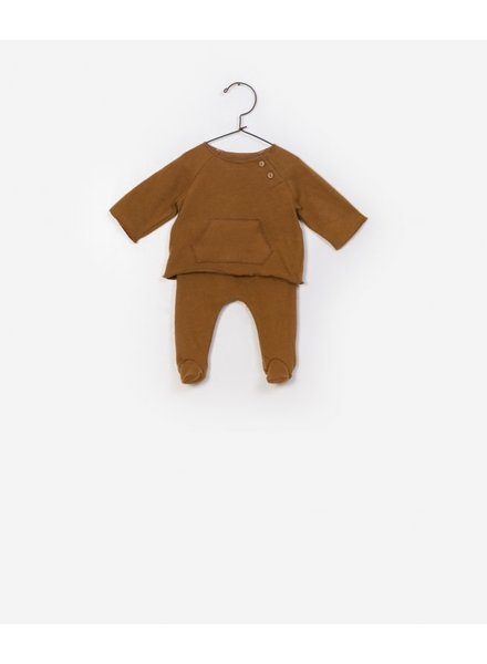 Play Up T-shirt + Trousers Set oker 0AF11550
