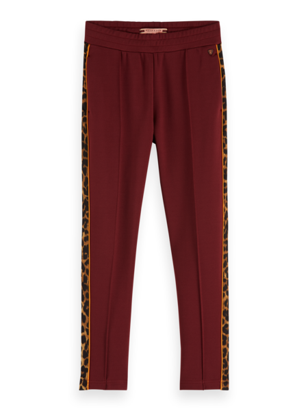 Scotch & Soda Sweatpants met leopard bies 151821
