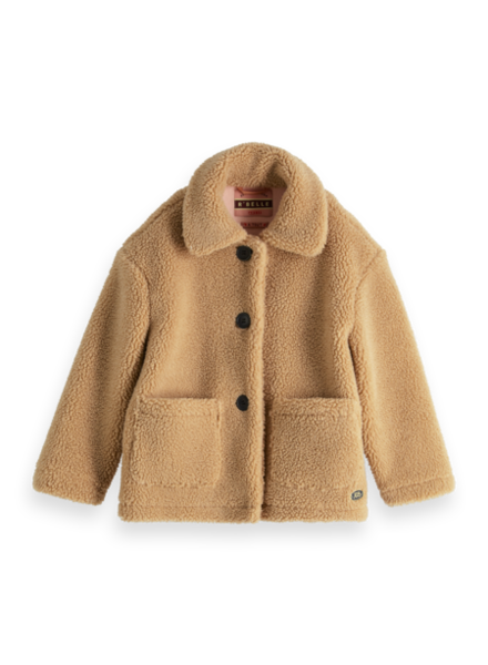 Scotch & Soda Korte teddy jas