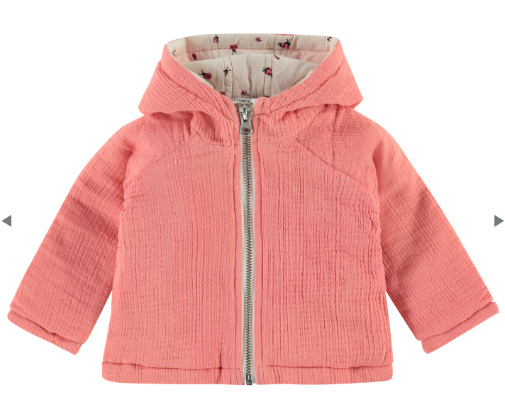 noppies jacket cameron peach blossom