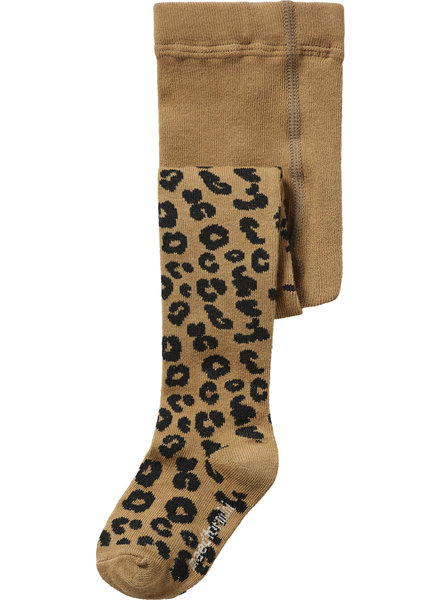 Maed for mini Brown Leopard Tights