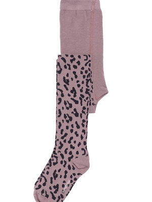 Maed for mini Lilac Leopard Tights