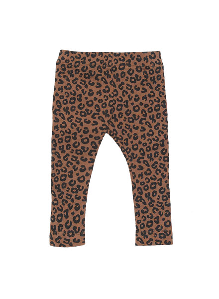 Maed for mini Chocolate Leopard Pants