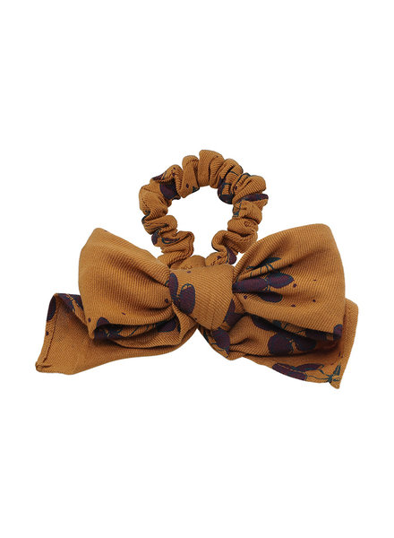 Soft Gallery Scruchie bow inca gold