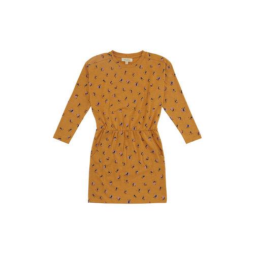 Soft Gallery Vigdis dress inca gold flowerbee
