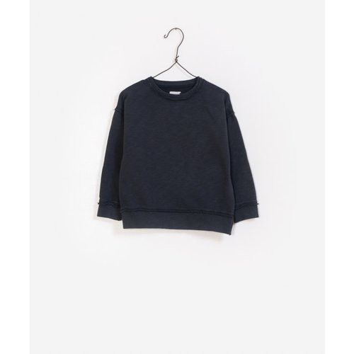 Play Up Flame fleece sweater antraciet