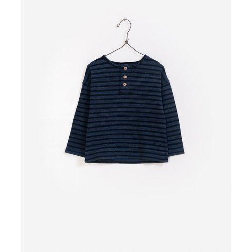 Play Up Striped jersey sweater blauw/zwart