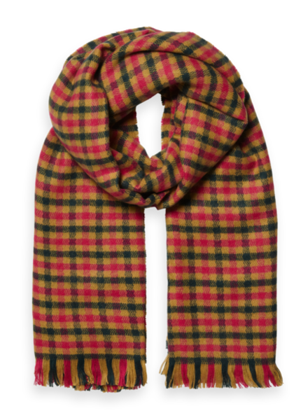 Scotch & Soda Oversized ruitje scarf