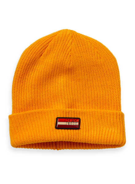 Scotch & Soda Beanie 151595 oranje M