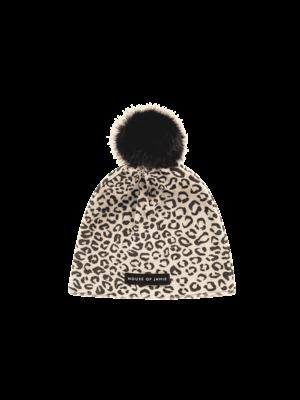 House of Jamie Pom pom hat snow leopard