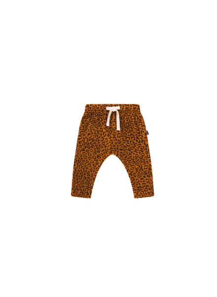 House of Jamie BABY PANTS golden leopard