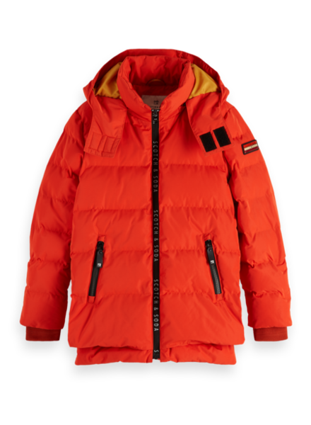 Scotch & Soda Parka 151349 rood