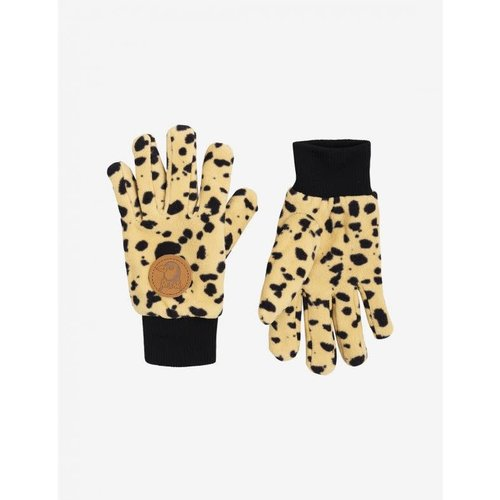 Mini rodini fleece gloves Beige