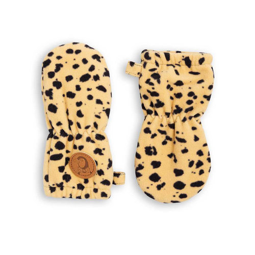 Mini rodini fleece mittens beige