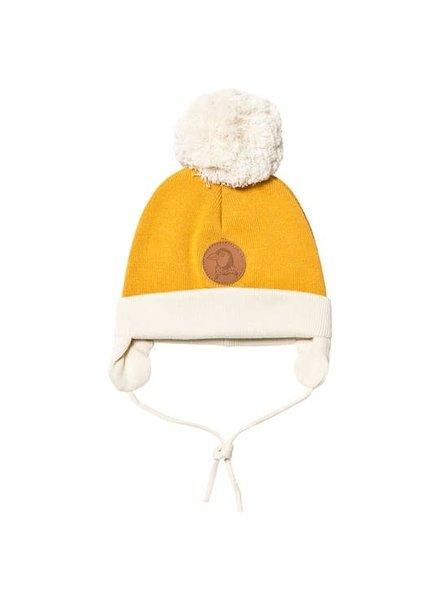 pinguin baby hat Yellow