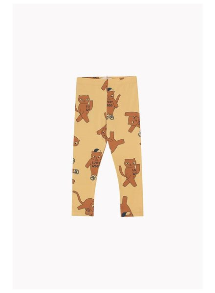 "Tiny cottons ""CATS"" PANT sand/brown"